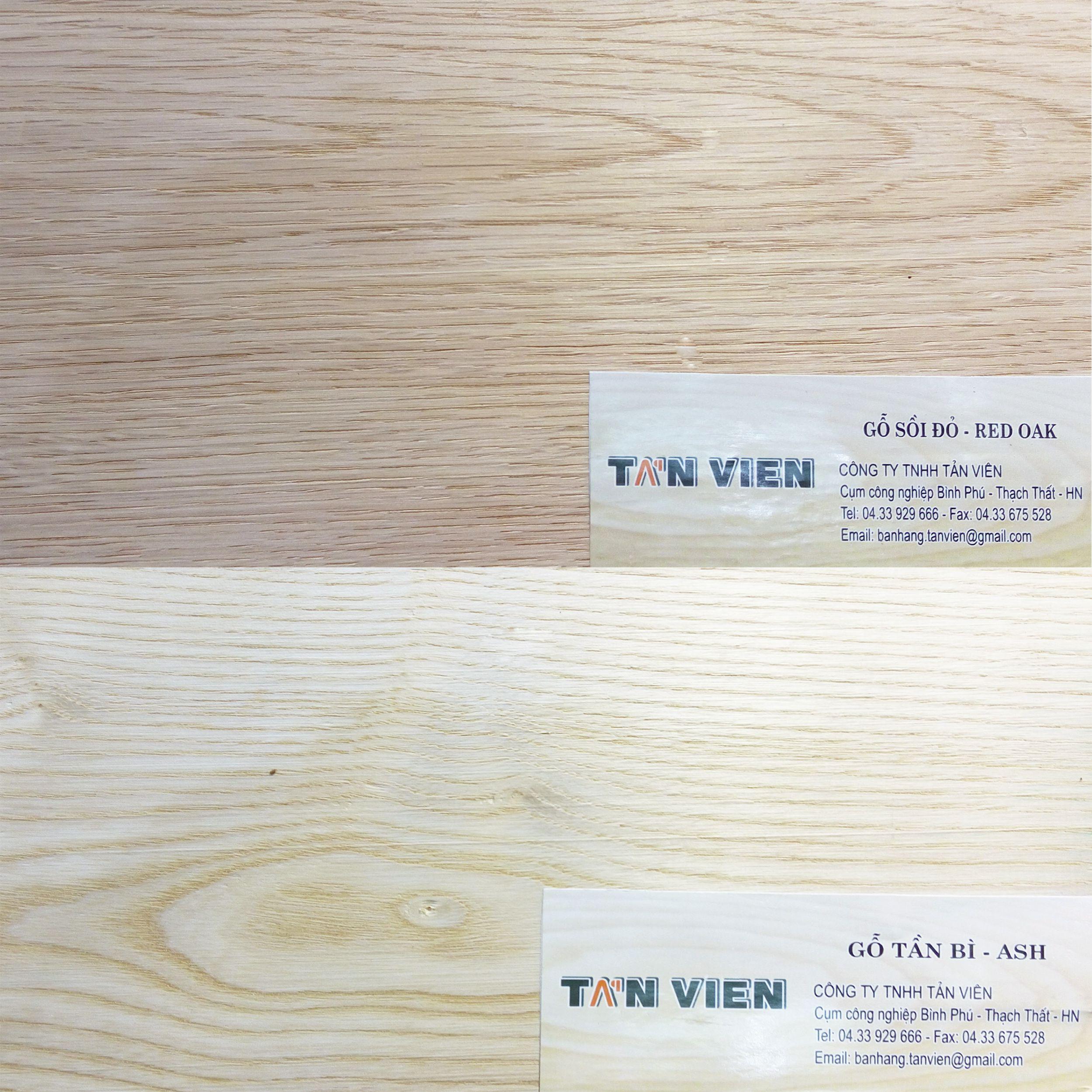 phân biệt gỗ tần bì và gỗ sồi