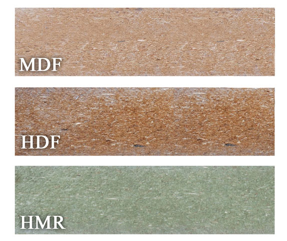 Phân biệt HDF và MDF lõi xanh