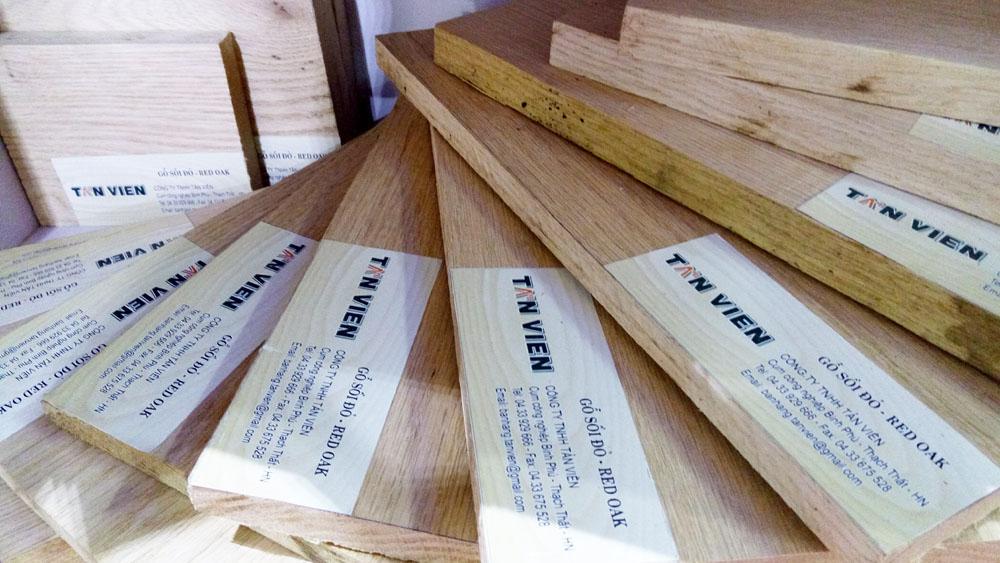 gỗ sồi đỏ tại hà nội