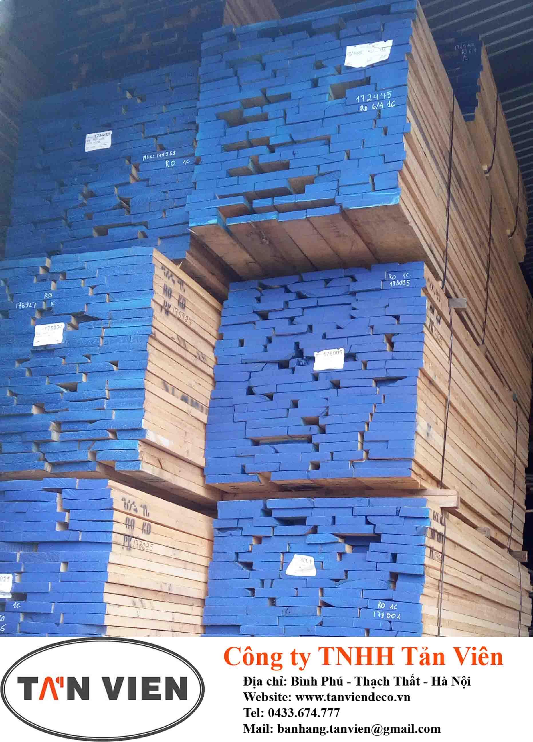 gỗ sồi nguyên liệu tại Hà Nội