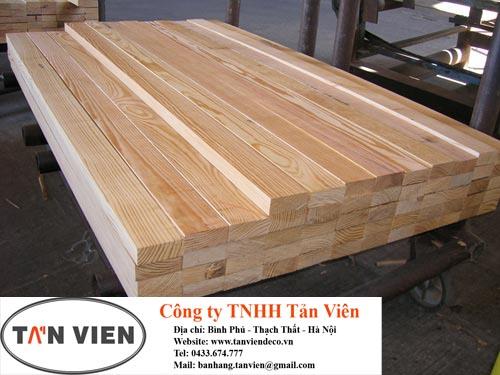 gỗ thông xẻ thanh nhập khẩu