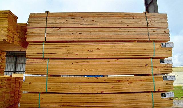 gỗ thông xẻ sấy