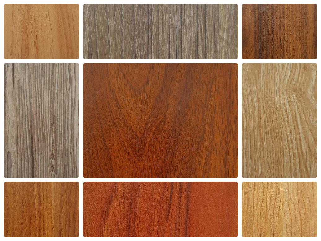 Bảng màu gỗ MFC phủ Melamine