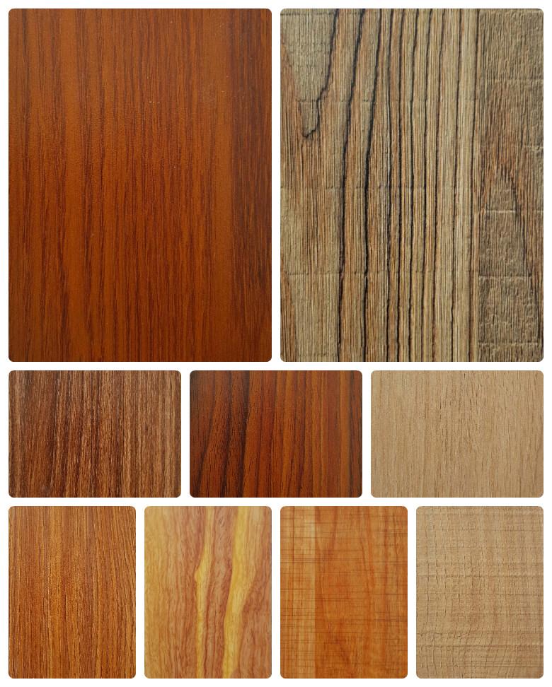 Bảng màu gỗ MFC