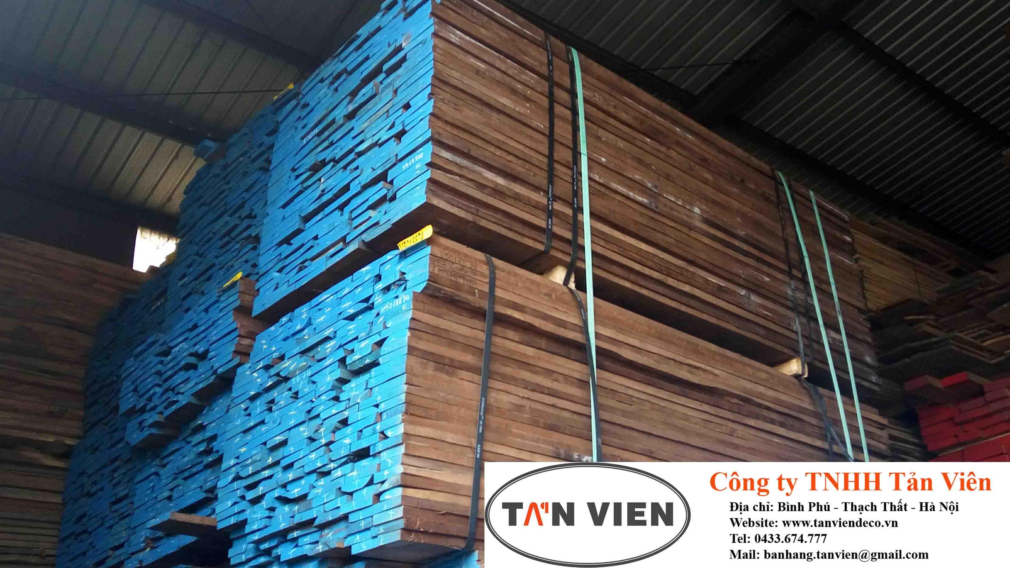 gỗ óc chó xẻ sấy tại Hà Nội