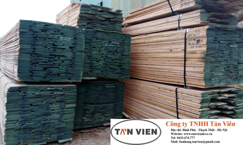 gỗ sồi nguyên liệu
