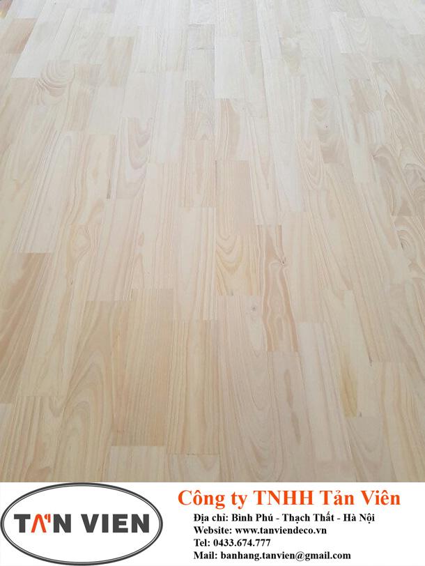 gỗ thông ghép thanh mặt A