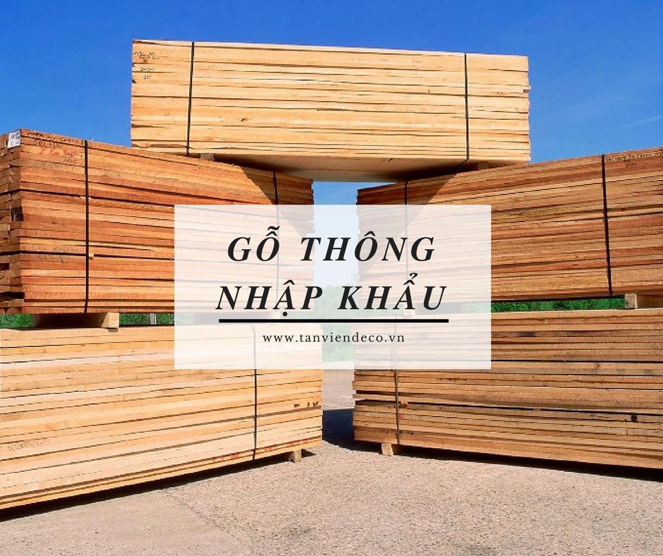 Mua gỗ thông nhập khẩu tại Hà Nội
